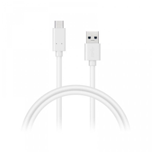 Kábel Connect IT USB-C, 1 m (CI-1177) biely